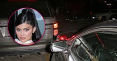 Kylie Jenner In Fender Bender As She Parties At Club