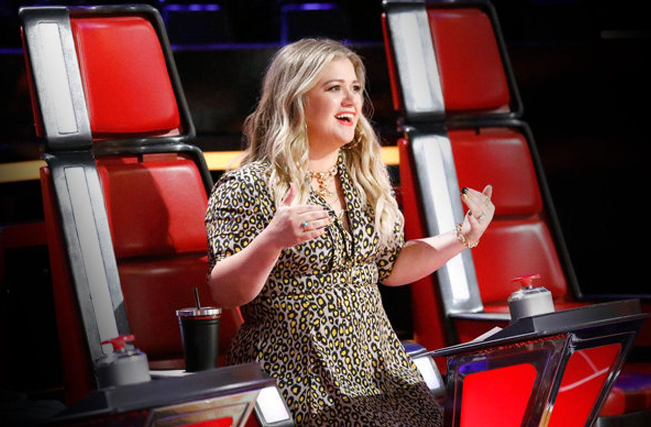 //Kelly Clarkson Returning The Voice pp
