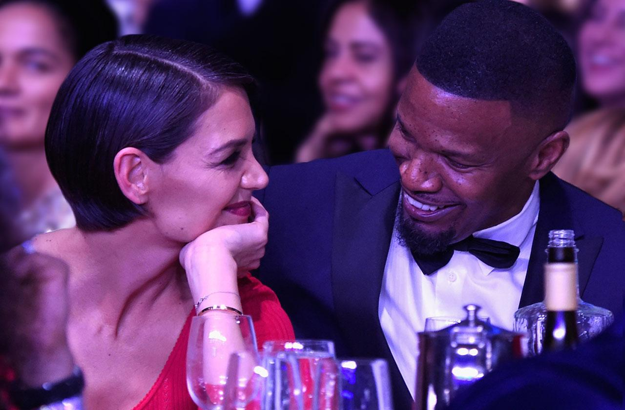 //Katie Holmes Jamie Foxx Move In Together pp