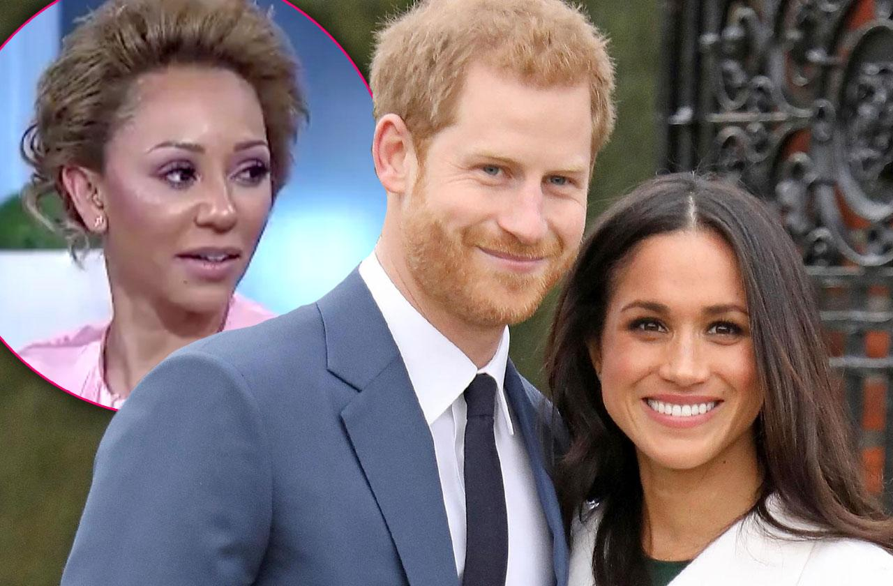 //Spice Girls Perform Royal Wedding Mel B pp