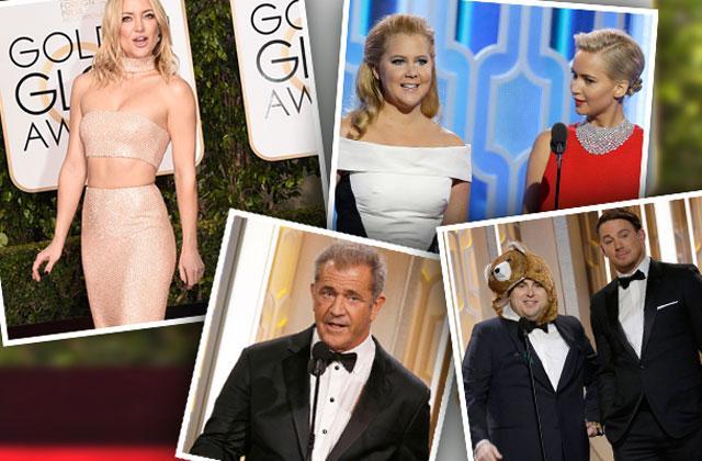 // golden globe awards shocking moments pp