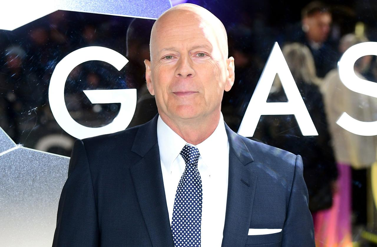 Bruce Willis Rested And Refreshed After Drunken Night Partying In London