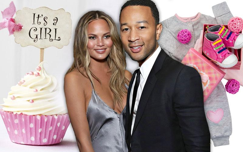 Chrissy Teigen & John Legend Welcome Baby Girl