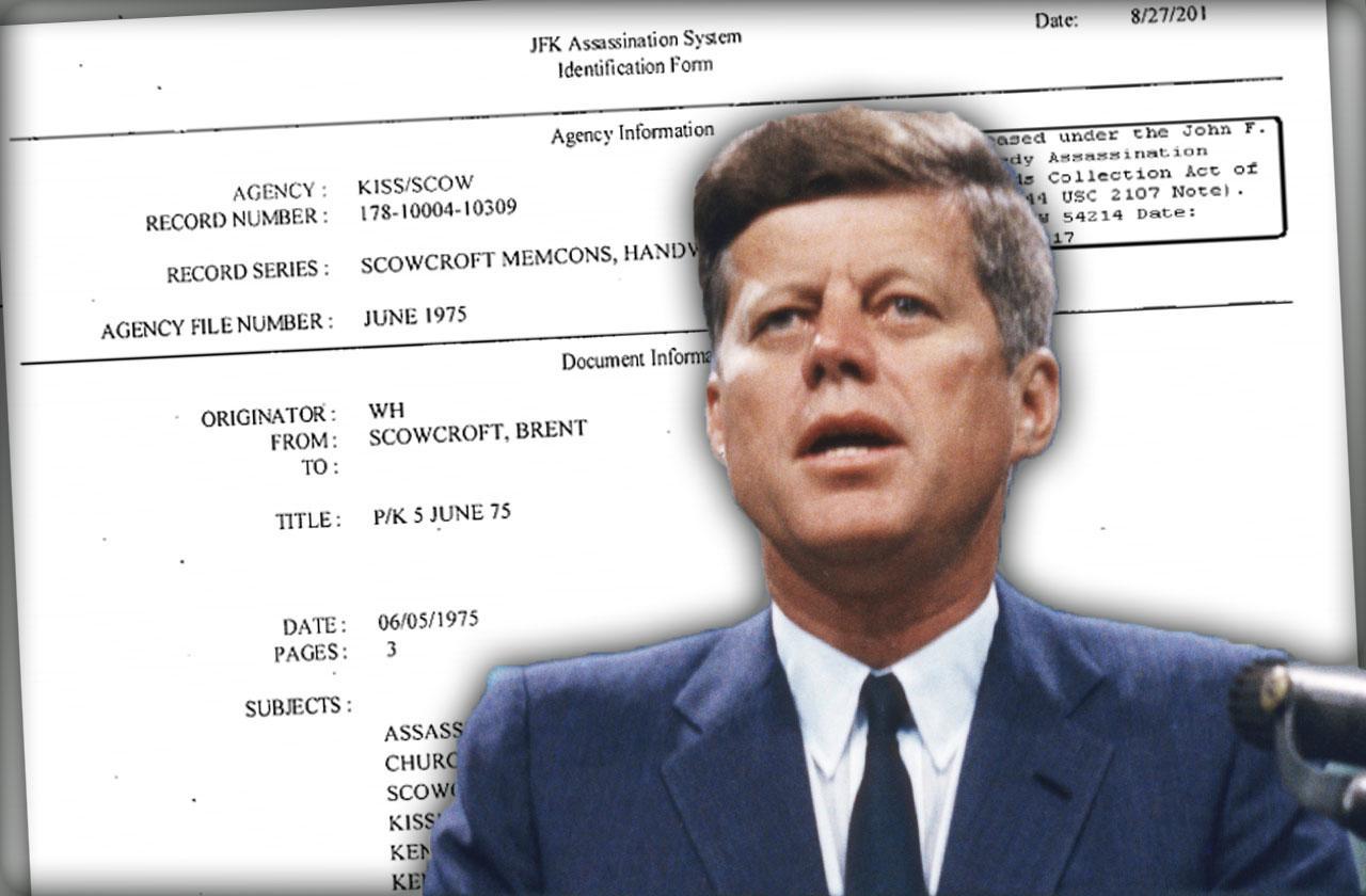 John F Kennedy Assassination Files Released