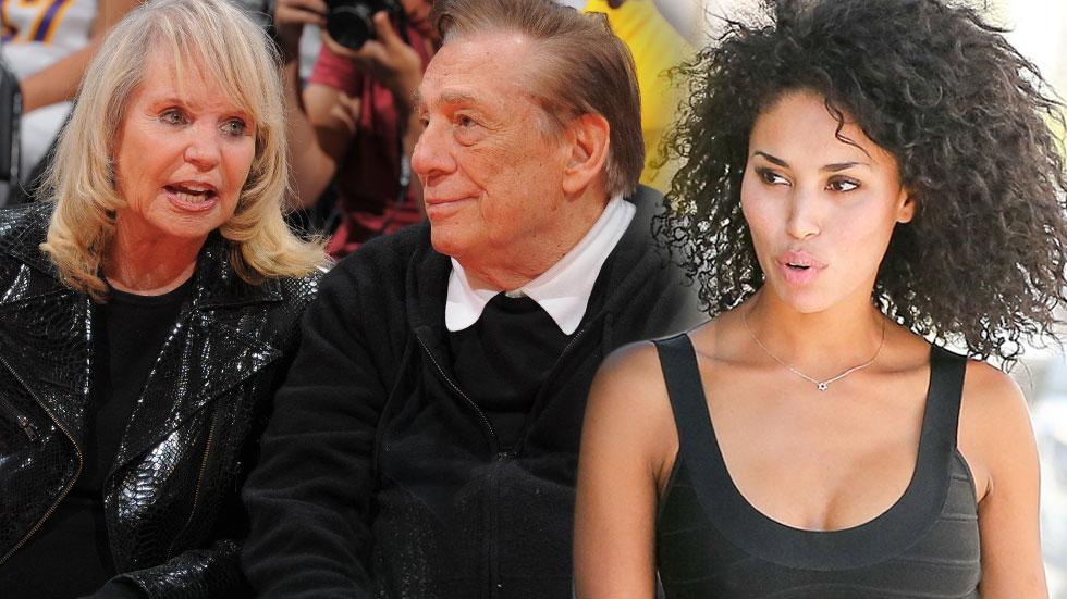 Donald Sterling Mistress V. Stiviano Shelly Sterling