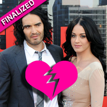 //russell brand katie perry divorce