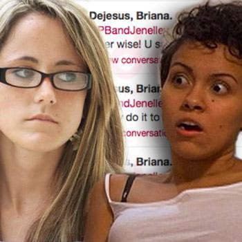 Briana Tweets Attack jenelle