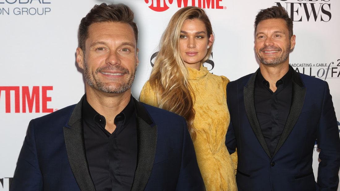 Ryan Seacrest & Shayna Taylor On Red Carpet After Their Reunion