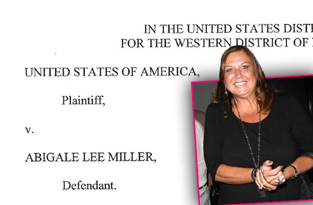 //abby lee miller case extension pp
