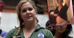 Amy Schumer Pregnant Baby Bump After Hospitalization