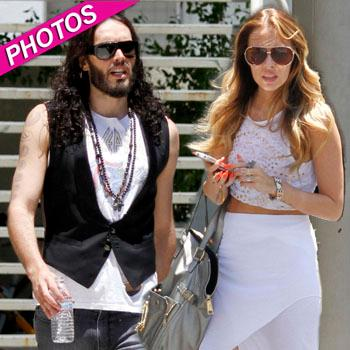 //russell brand girlfriend maeve stylist