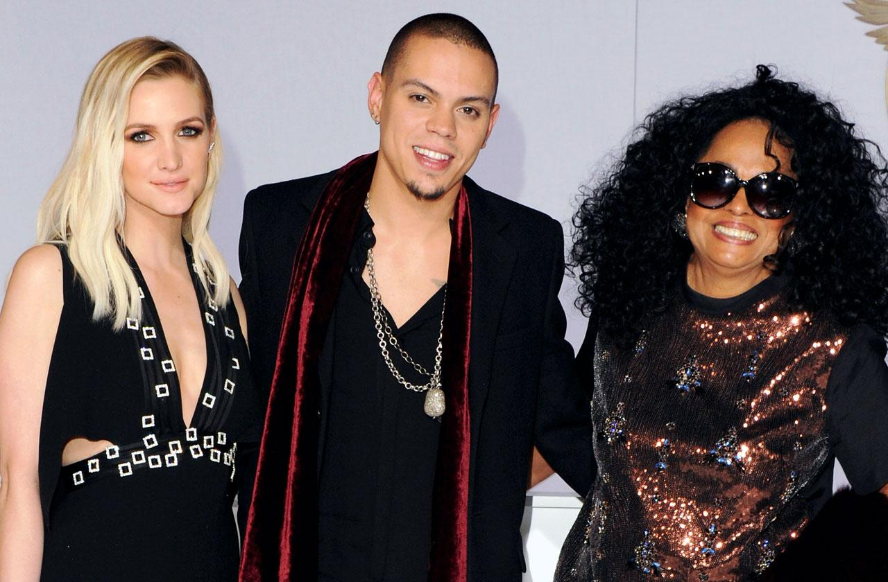 //ashlee simpson husband evan mother diana ross new show pp