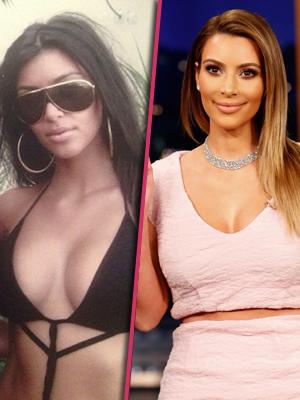 //kim kardashian changing face pp