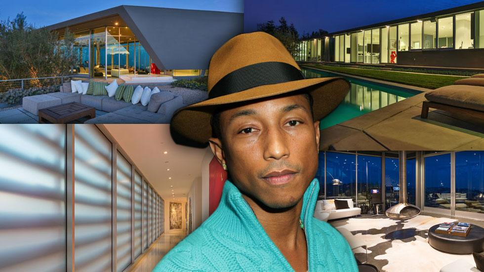 Pharrell Williams Los Angeles Mansion