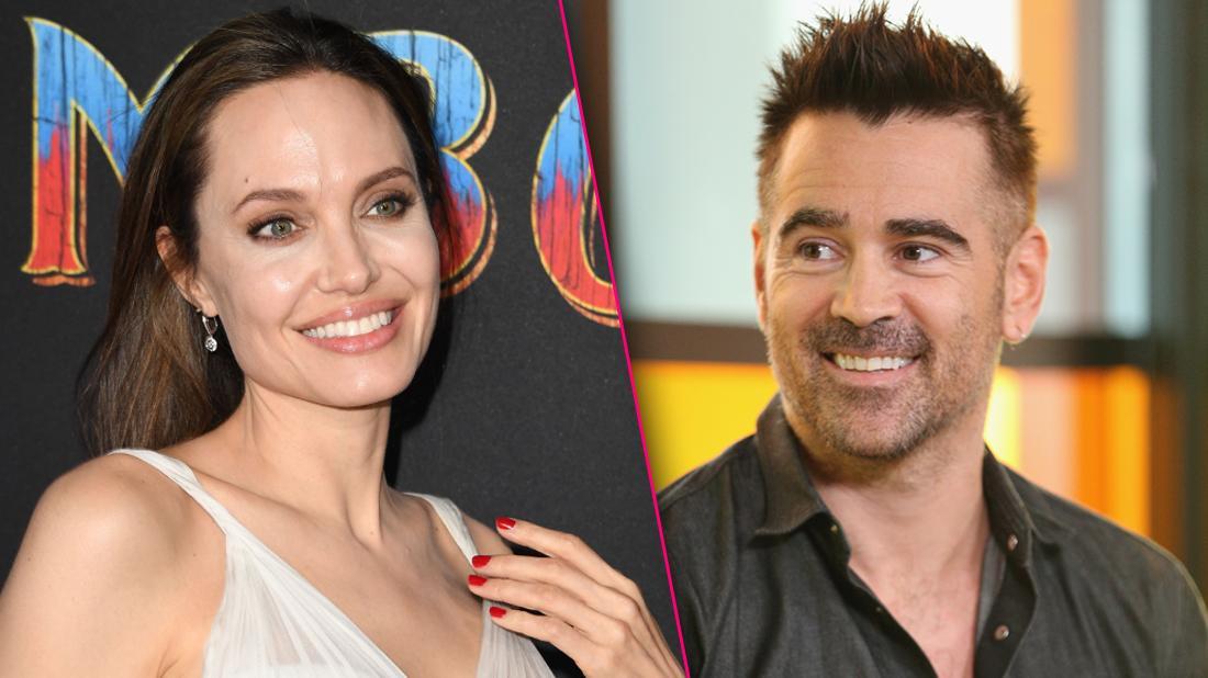Angelina Jolie Colin Farrell Red Hot Flirtation