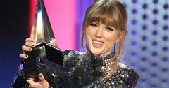 Taylor Swift 2018 AMA Speech Win