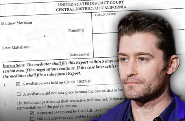 matthew morrison sued acting coach dismissed glee