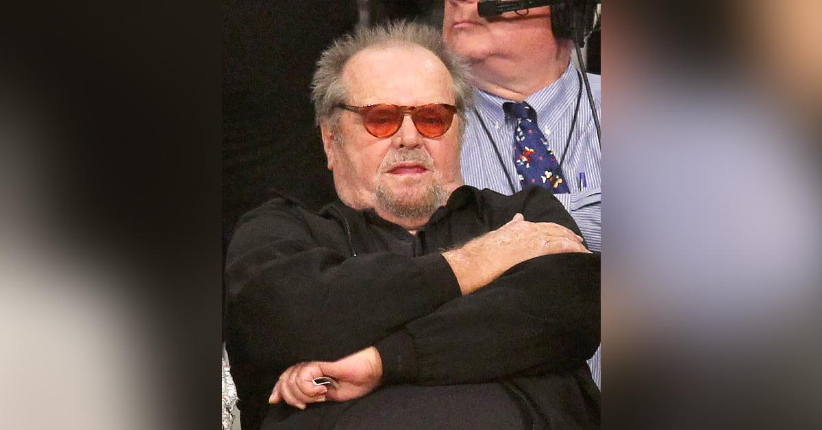 jack nicholson sighting courtside lakers game health concerns r
