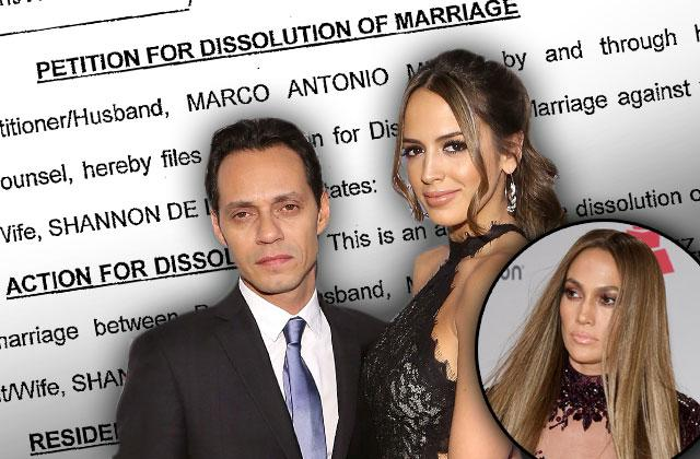 //Marc Anthony Divorce Papers Secret Exposed