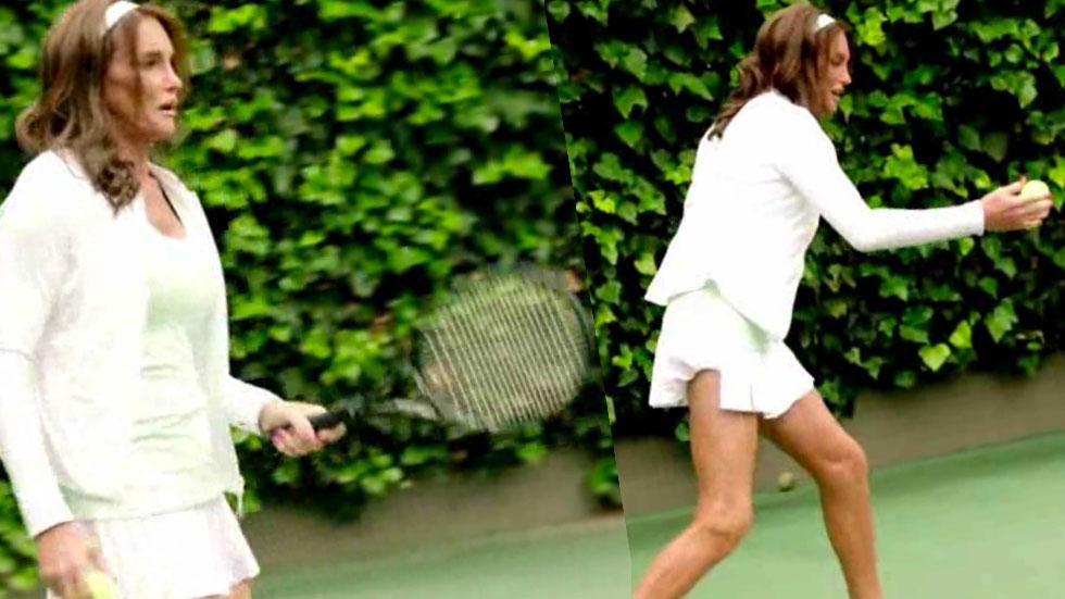 Caitlyn Jenner 'I Am Cait' Tennis