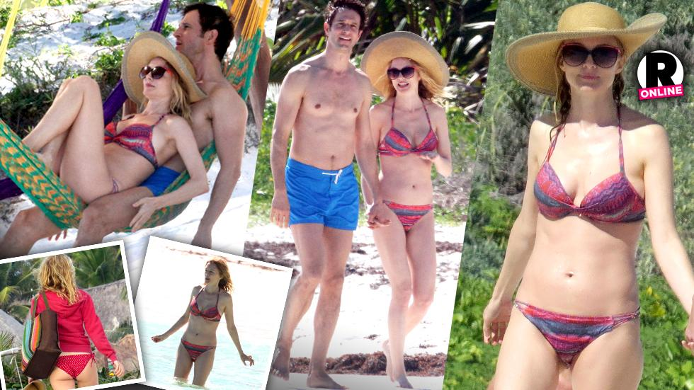 Heather Graham Bikini Tulum Mystery Man TAGS: Heather Graham