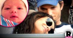 //ashton kutcher mila kunis spend holidays iowa baby wyatt