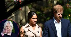 Meghan & Harry Will Talk To Queen In Royal Meeting Monday