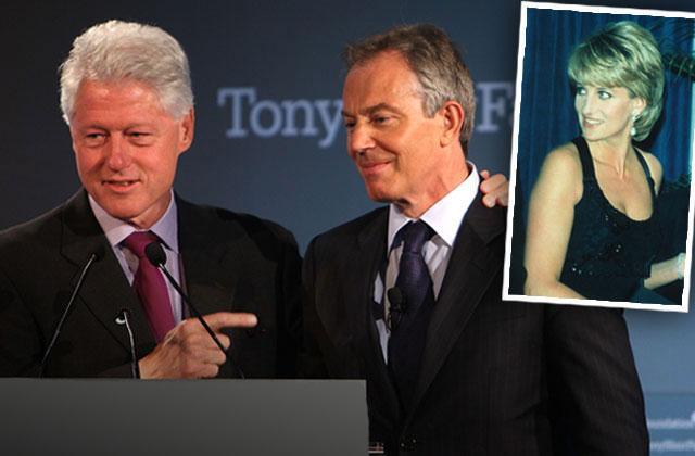Bill Clinton Tony Blair Princess Diana Death Emails
