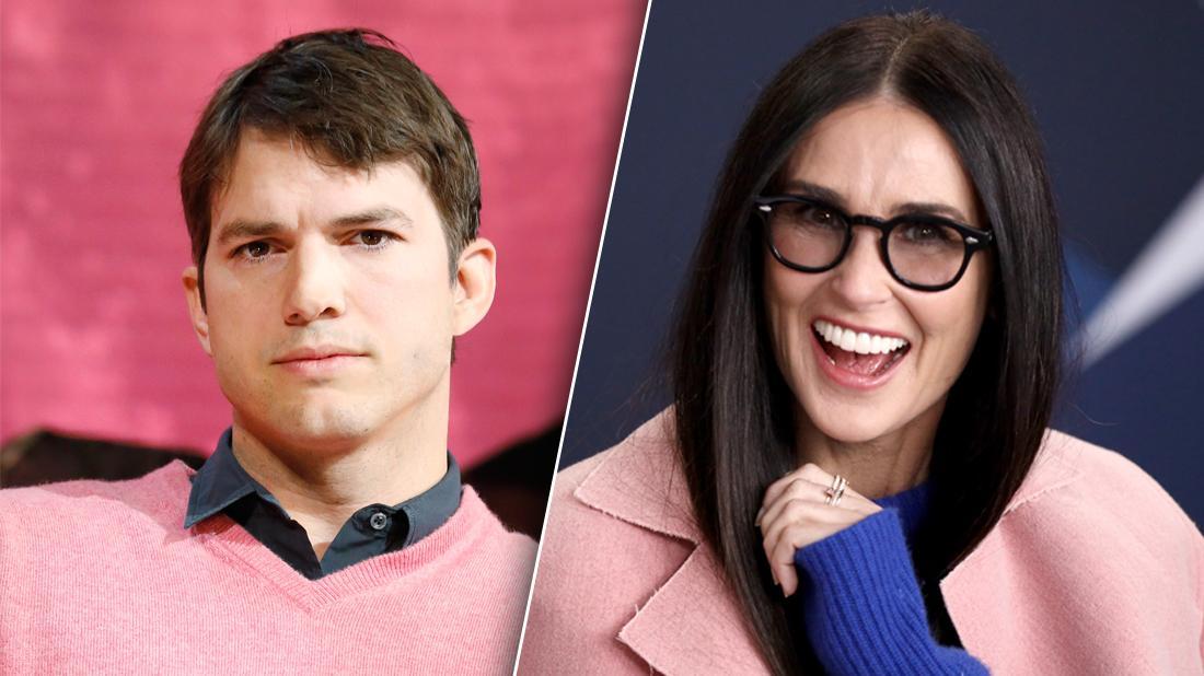 Ashton Kutcher Freaked Out Over Demi Moore's Tell-All Memoir