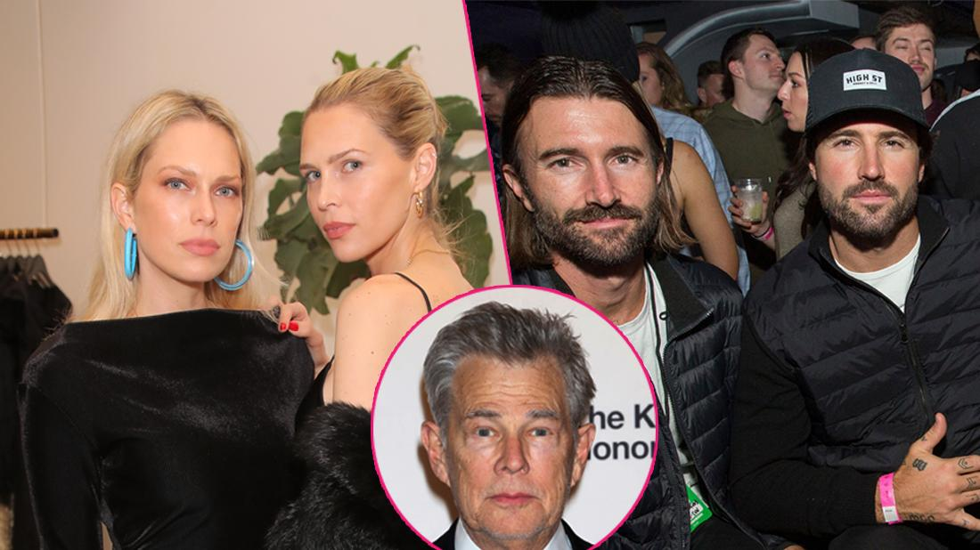 David Foster's Daughters Erin & Sara Slam Famous Father For Raising Brody & Brandon Jenner