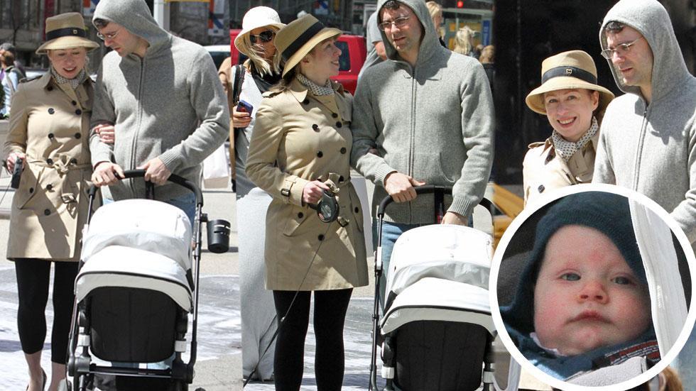 Chelsea Clinton Baby Charlotte Mezvinsky