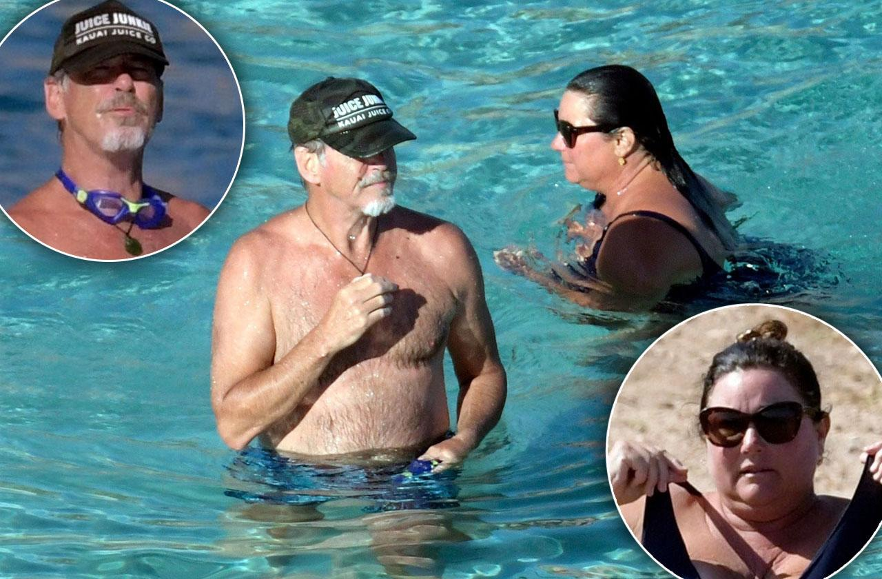 Pierce Brosnan Snuggles Wife Keely Shaye During Romantic Italian Getaway