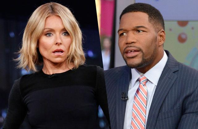 Kelly Ripa Letter Mad Michael Strahan Leaving Live