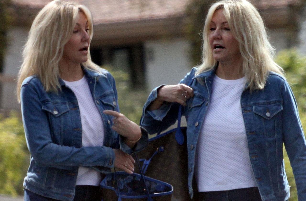 Heather Locklear Healthy Church After Rehab