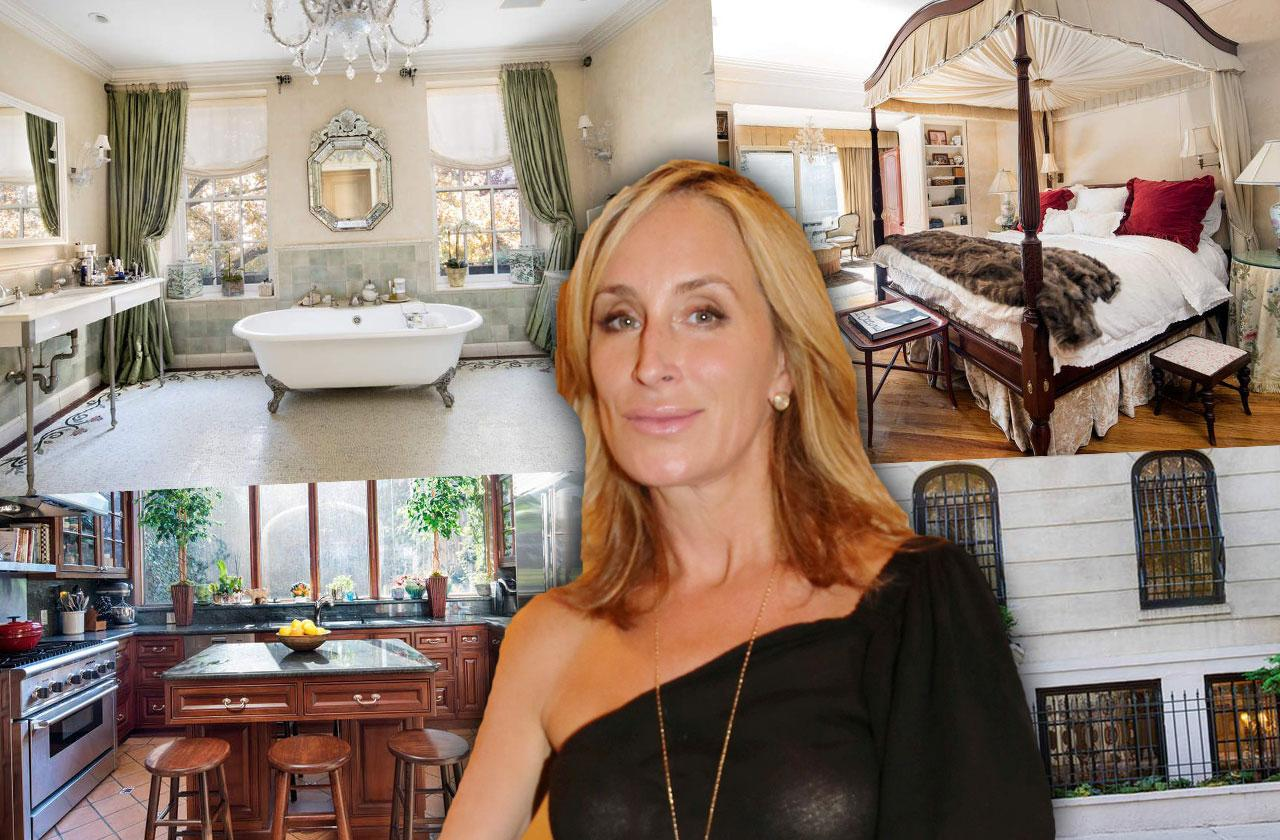 //rhony star sonja morgan rents new york city townhouse pp