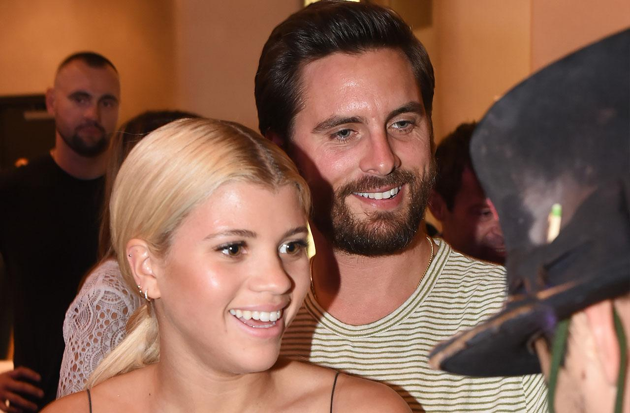 Scott Disick Sofia Richie Engaged