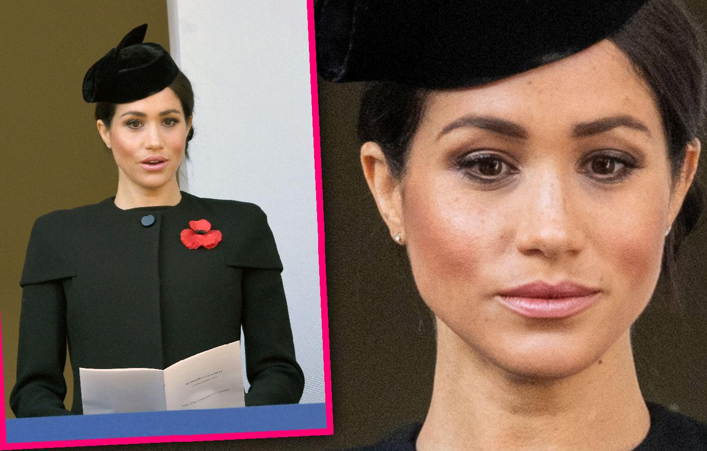 Meghan Markle Attends Remembrance Day Amid Diva Rumors