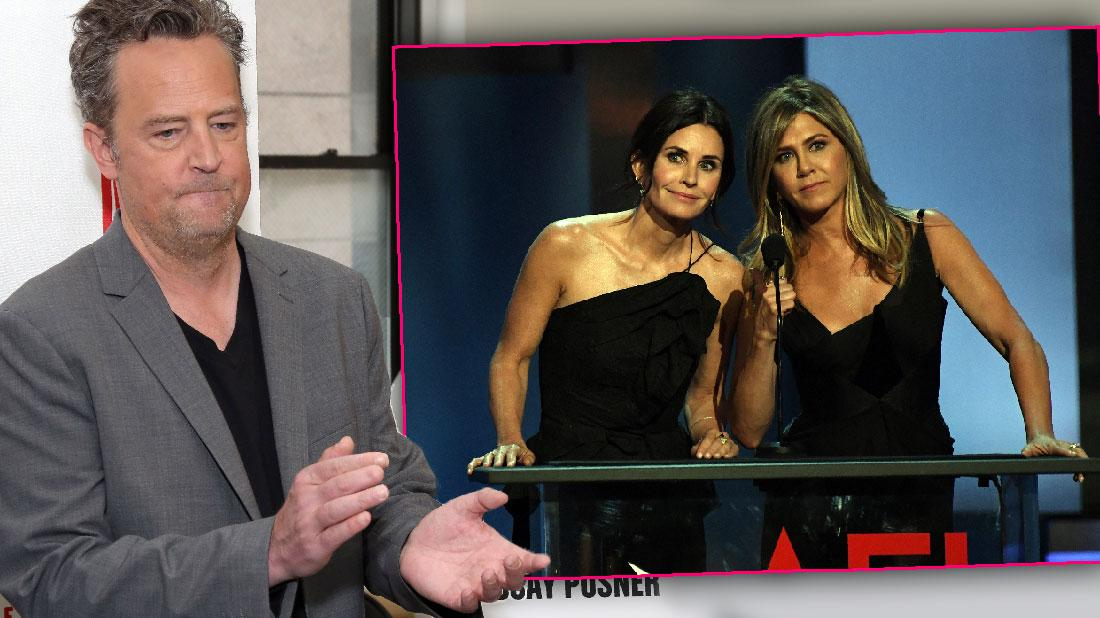 Friends Cast Fears For Disheveled Sad Matthew Perry