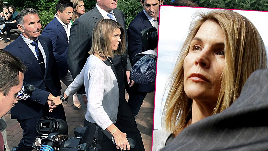 Lori Loughlin Looks Nervous Frail In Court Amid College Admissions Scandal