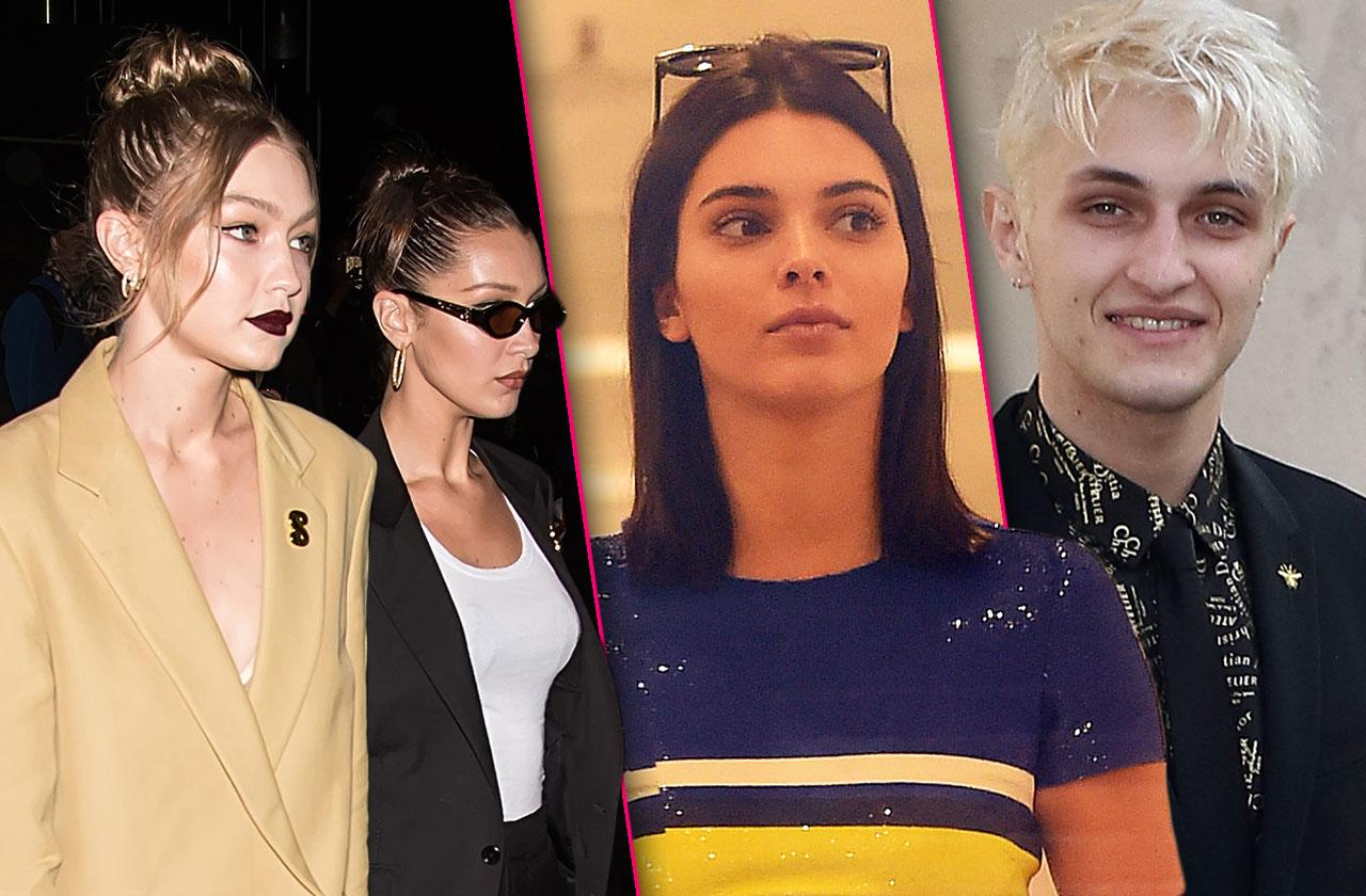 Kendall Jenner Anwar Hadid Gigi Bella React