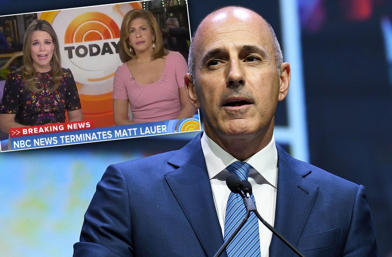//Matt Lauer Fired NBC Inappropriate Sexual Behavior pp