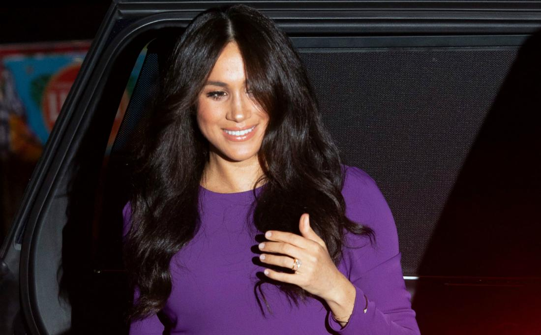 Meghan Duchess of Sussex, arrives for the One Young World Summit at the Royal Albert Hall in London, Britain