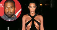 Fashion Victim! Kanye Demands Kim Seek His Approval For All Her Outfits