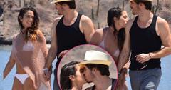 Nikki Reed Bikini Kiss PDA Husband