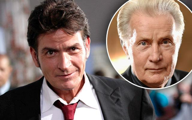 //charlie sheen hiv positive martin courage pp