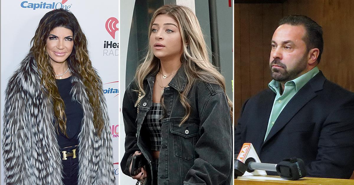 rhonj teresa giudice daughter gia blames bravo dad editing joe gorga fight