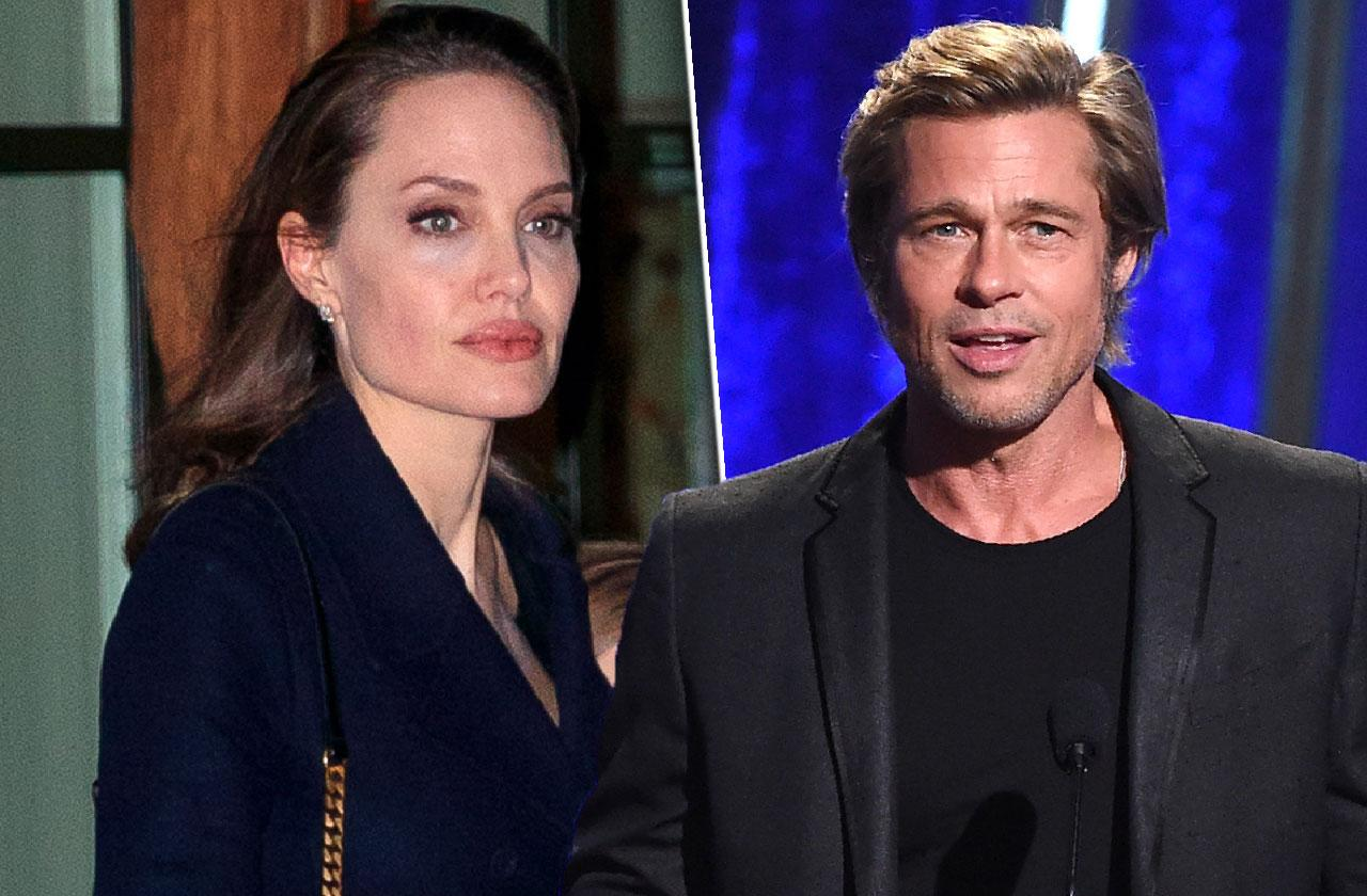 Brad Pitt And Angelina Jolie Plan Not Legally Married Divorce Deal