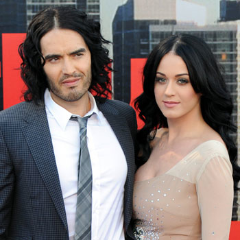 //russell brand katy perry split reason