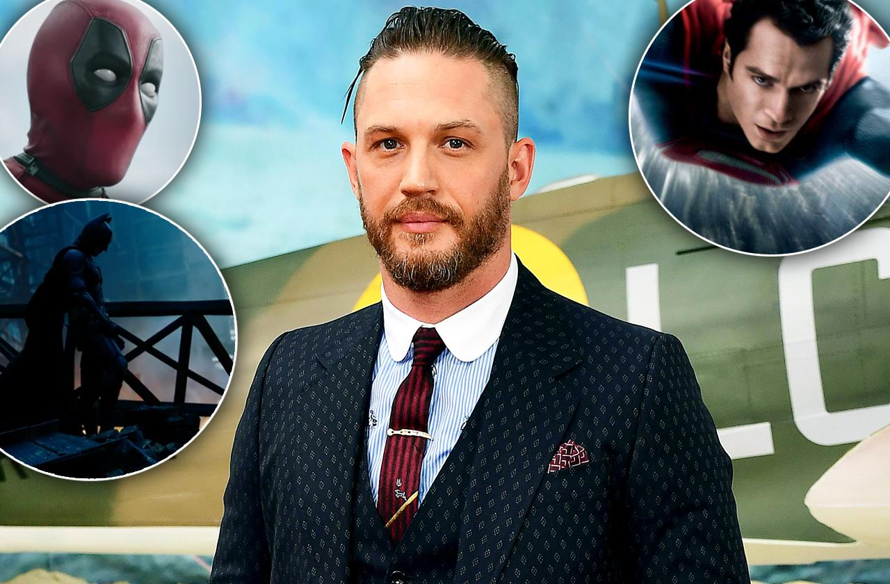 Tom Hardy Disguises Comics