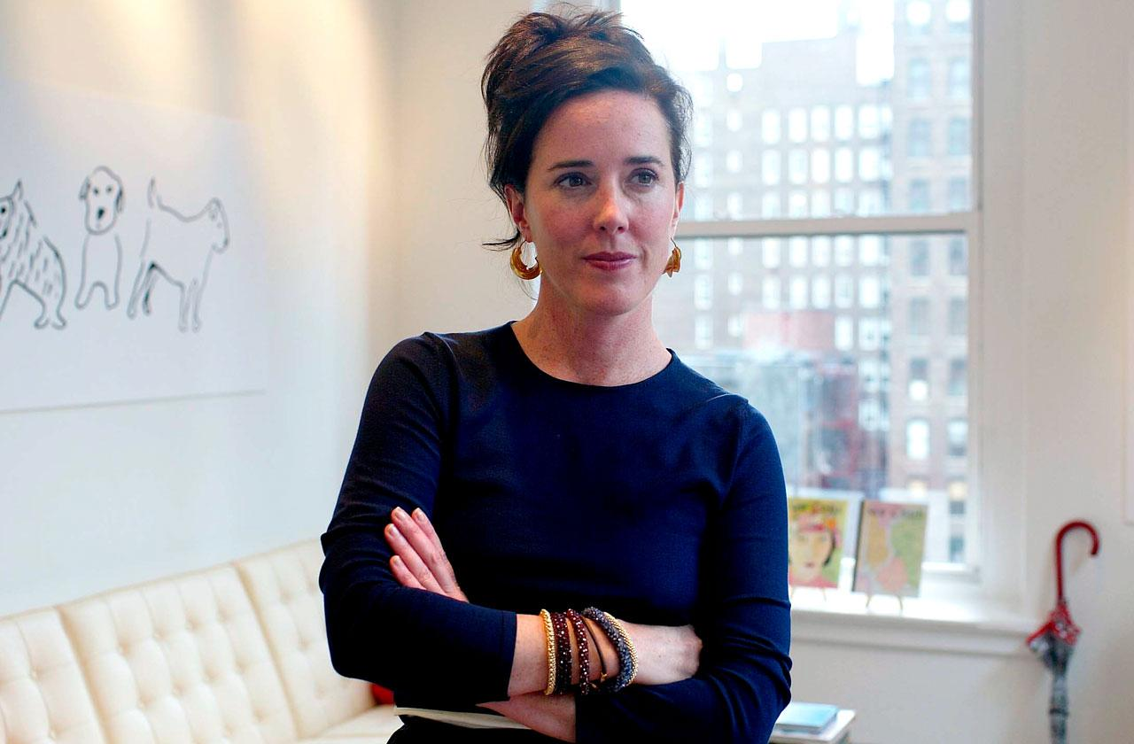 //kate spade secret regret selling her company PP